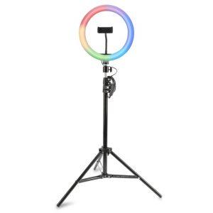 4smarts Tripod LoomiPod RGB LED fény és Selfie-tripod