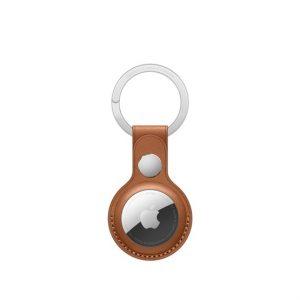 Apple AirTag bőr kulcstartó