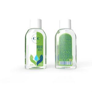 Clean Co kéztisztító gél 60ml (70% alkoholtartalom)
