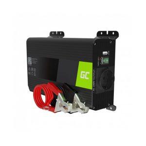 Green Cell Autós inverter USB csatlakozóval 12V-230V