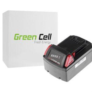 Green Cell Milwaukee C18 M18 18V 3000mAh Li-Ion