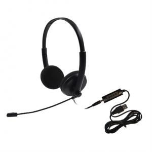 Hameco HS-1020D-USB sztereó headset - Kép
