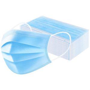 Háromrétegű higiéniai védőmaszk