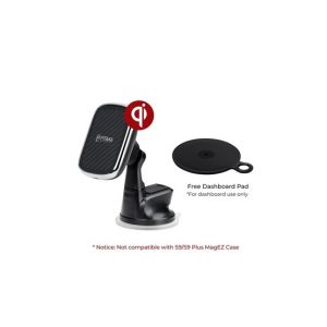 Pitaka MagMount (CMS3001Q) Qi tapadókorongos mágneses autós tartó műszerfalra