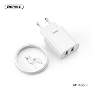Remax Jane RP-U35 hálózati adapter + microUSB kábel