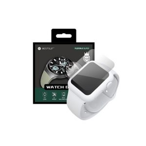Samsung Galaxy Watch Active2 44mm Nano 5H flexibilis okosóra védőfólia - Kép