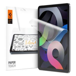 "Spigen Paper Touch Apple iPad Pro 11"" (2021/2020/2018) / iPad Air 4 paperlike matt kijelzővédő fólia (2db) - Kép"