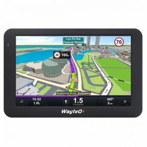 WayteQ X995 8GB + Sygic 3D Teljes Európa (Élettartam frissítéssel)