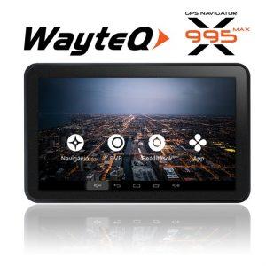 """WayteQ X995 Max 7"""" 8GB + Sygic 3D Teljes Európa (Élettartam frissítéssel)"""