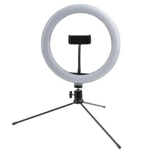 4smarts Tripod LoomiPod Mini fehér LED fény és Selfie-tripod