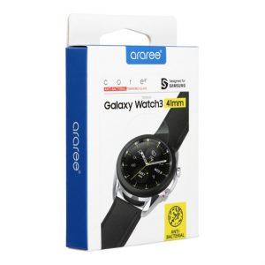 Araree Sub Core Samsung Galaxy Watch 3 41mm tempered glass kijelzővédő üvegfólia fólia - Kép