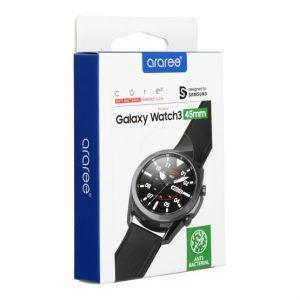 Araree Sub Core Samsung Galaxy Watch 3 45mm tempered glass kijelzővédő üvegfólia fólia - Kép