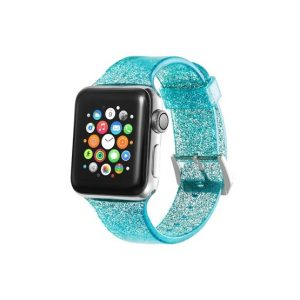 Xprotector csillámos szíj Apple Watch 38/40mm türkizkék - Kép