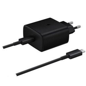 Samsung EP-TA845XB töltő + USB-C - USB-C kábel