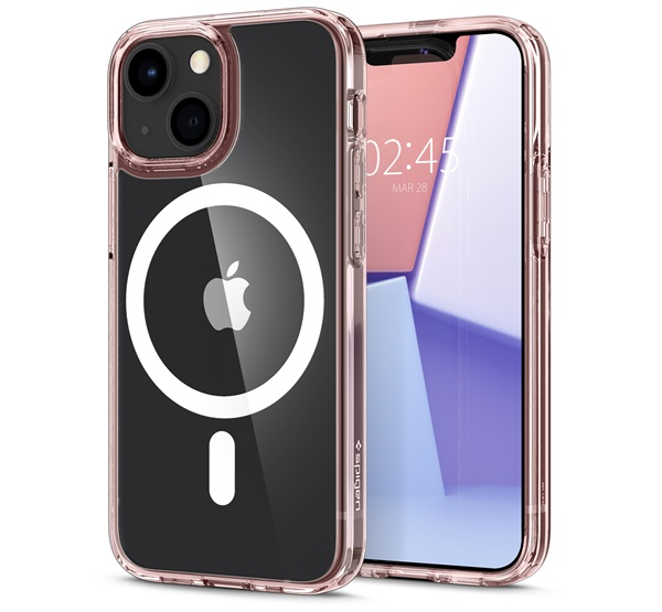 Spigen Ultra Hybrid Mag Apple iPhone 13 mini Rose Crystal Magsafe tok